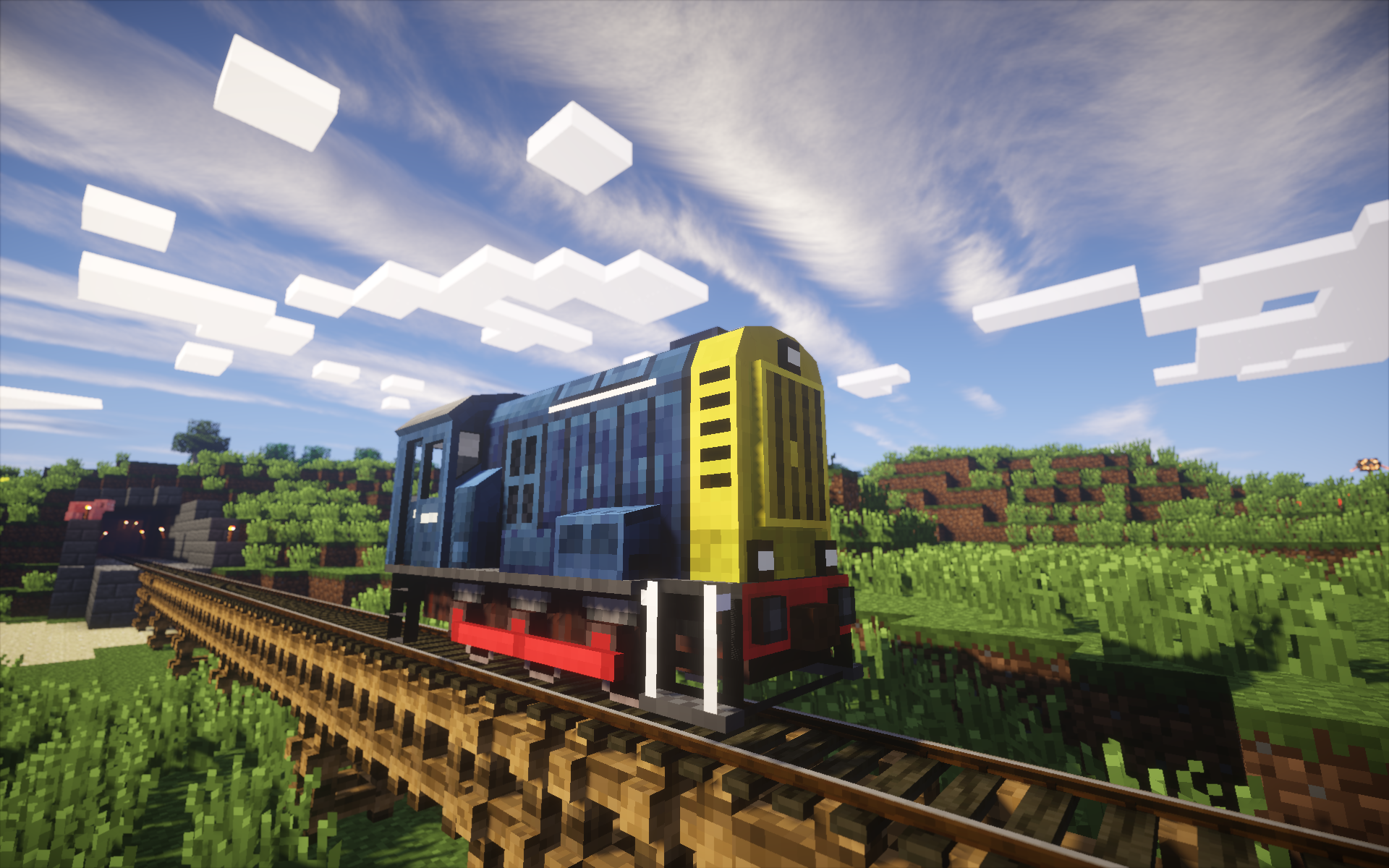 Train Craft Mod Causing Lag