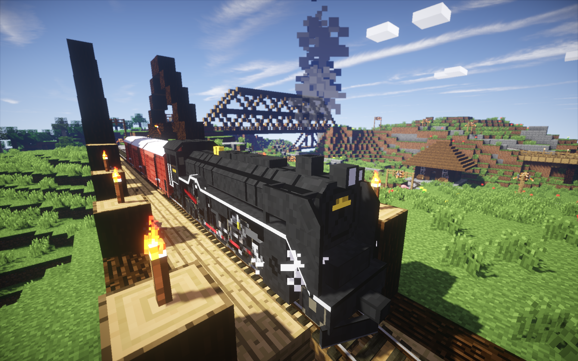 Traincraft mod mc 1. 9/1. 8/1. 7. 10/1. 7. 4/1. 6. 4/1. 5. 2 youtube.