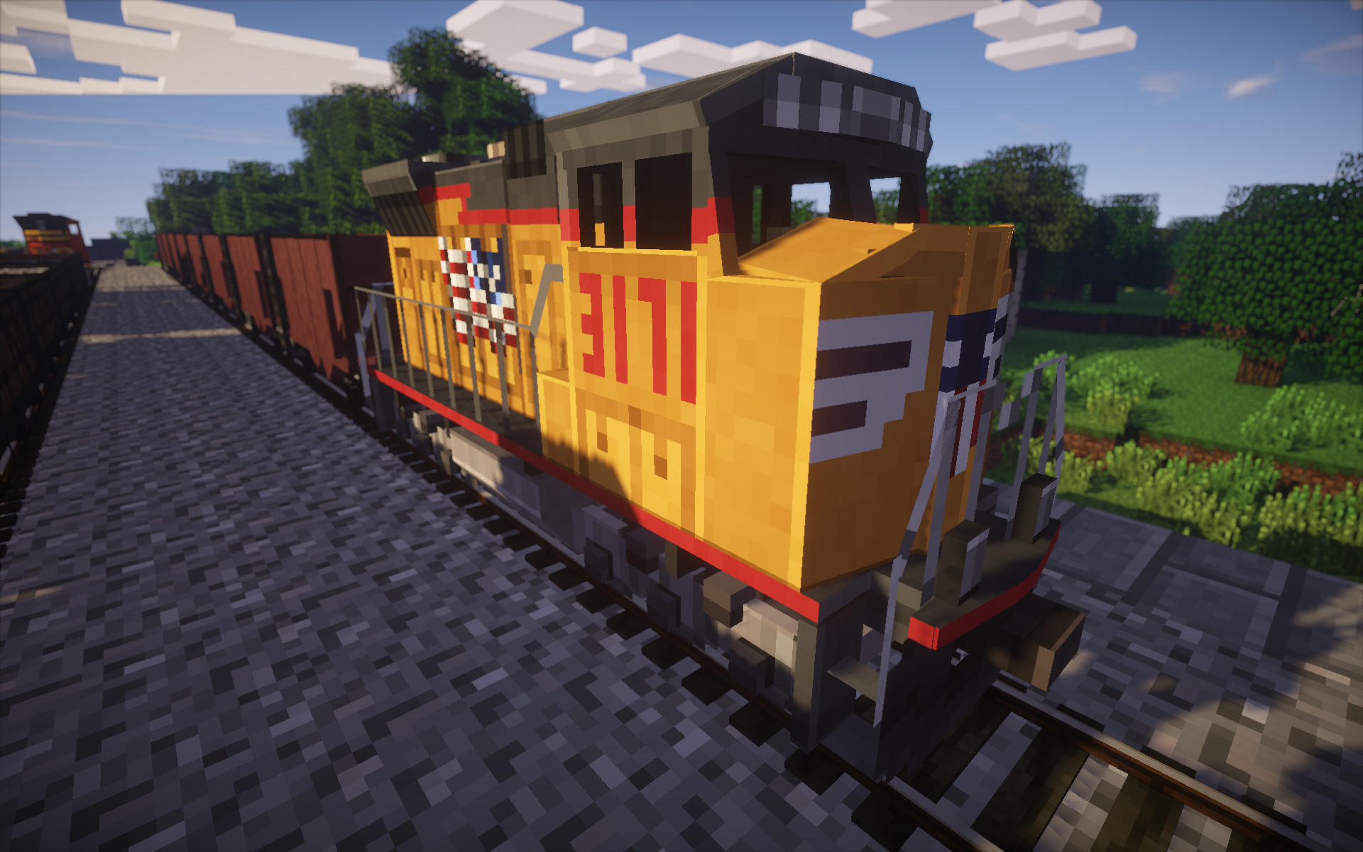 1. 6. 4] train craft mod installer!