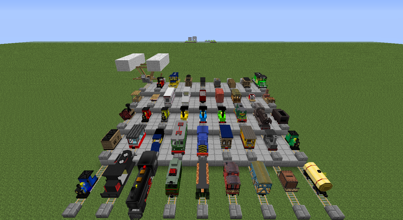 train mod for minecraft
